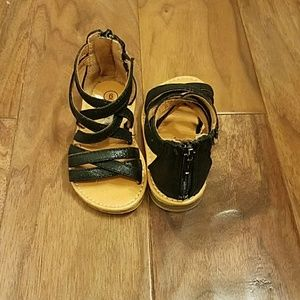 Size 6 baby girl shoes 3 pair